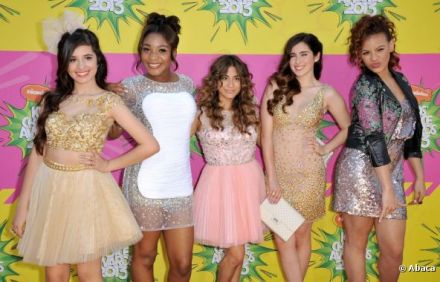 Fifth Harmony at Kids' Choice Awards 2013
